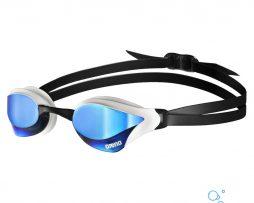 Αγωνιστικά γυαλάκια κολύμβησης, Arena Cobra Core Mirror White Revo Blue