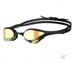 Αγωνιστικά γυαλάκια κολύμβησης, Arena Cobra Ultra Mirror Black Black Yellow