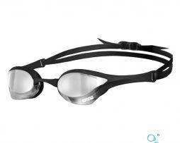 Αγωνιστικά γυαλάκια κολύμβησης, Arena Cobra Ultra Mirror Black Silver