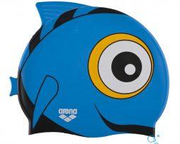 Κολυμβητικό σκουφάκι από πολυεστέρα, ARENA 91915-010-AWT BLUE FISH BEBE CAP