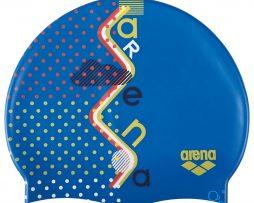 Κολυμβητικό σκουφάκι από πολυεστέρα, ARENA BEBE 94171710_PRINT 1 JR