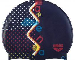 Κολυμβητικό σκουφάκι από πολυεστέρα, ARENA BEBE 94171710_PRINT JR