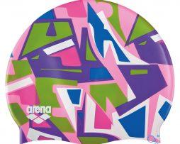 Κολυμβητικό σκουφάκι από πολυεστέρα, ARENA BEBE 94171910_PRINT JR