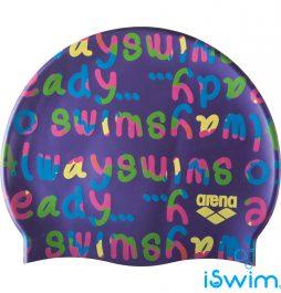 Κολυμβητικό σκουφάκι από πολυεστέρα, ARENA BEBE 94171981_PRINT JR