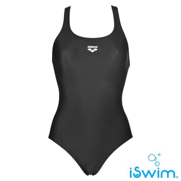 Γυναικείο μαγιό πισίνας αντοχής στο χλώριο, ARENA DYNAMO ONE PIECE NAVY BLACK