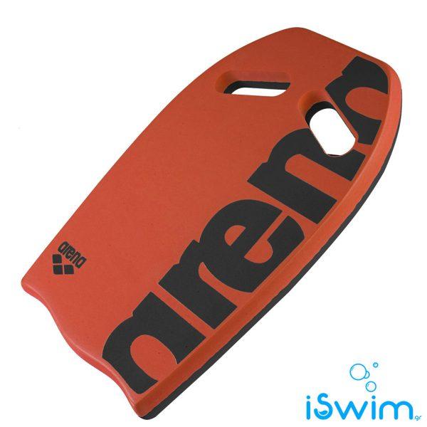 Κολυμβητική σανίδα, ARENA SOFT KICKBOARD ORANGE BLACK