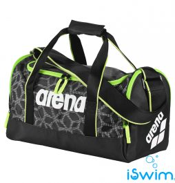 Τσάντα χειρός, ARENA SPIKY 2 MEDIUM BLACK FLUO GREEN