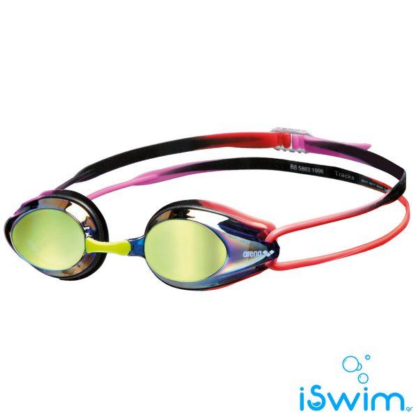 Κολυμβητικά γυαλάκια, ARENA TRACKS MIRROR PURPLE PURPLE RED