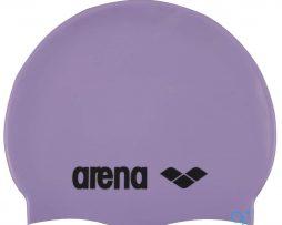 Κολυμβητικό σκουφάκι σιλικόνης, Arena Classic Silicon Cap Amethyst Smoke
