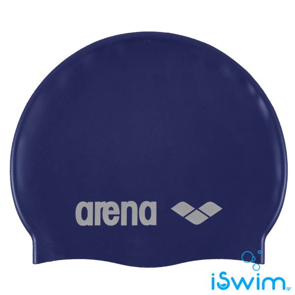 Κολυμβητικό σκουφάκι σιλικόνης, Arena Classic Silicon Cap Navy Blue