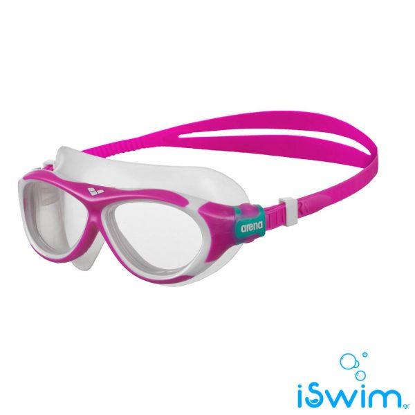 Παιδικά κολυμβητικά γυαλάκια, Arena Oblo Jr Fuchsia Clear