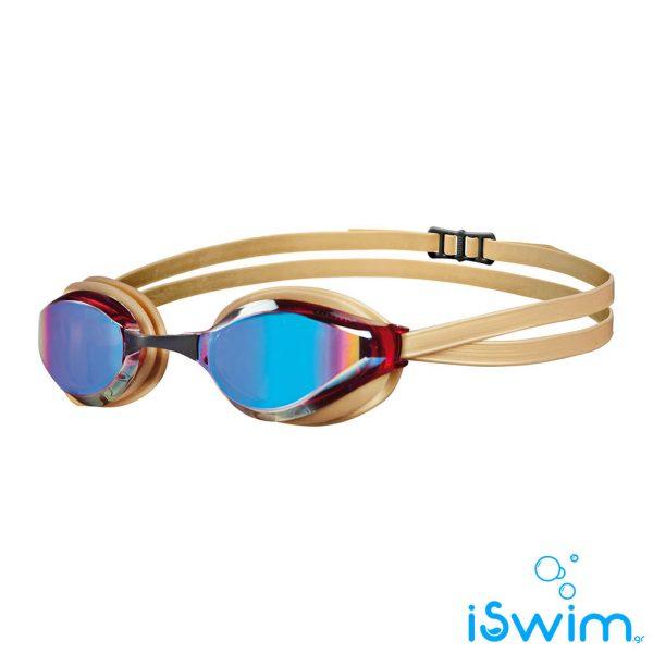 Κολυμβητικά γυαλάκια, Arena Python Mirror Revo Gold