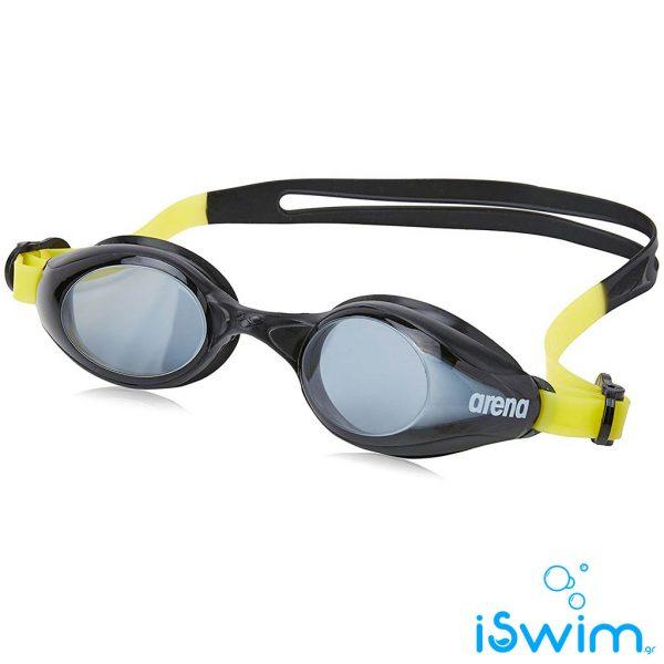 Παιδικά κολυμβητικά γυαλάκια, Arena Sprint Jr Smoke Black Yellow