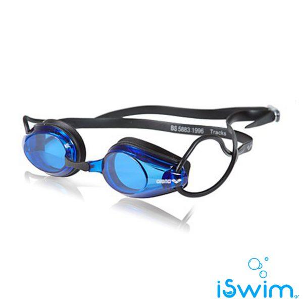 Κολυμβητικά γυαλάκια, Arena Tracks Black Blue Black