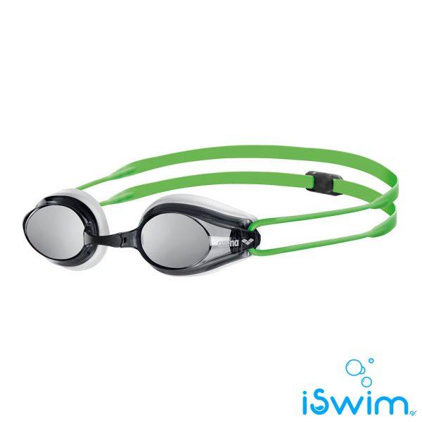 Κολυμβητικά γυαλάκια, Arena Tracks Mirror White Smoke Green