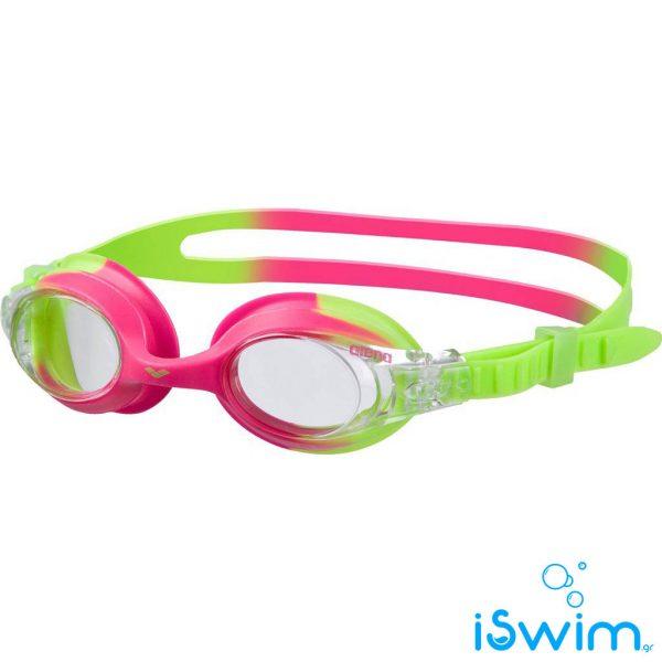 Παιδικά κολυμβητικά γυαλάκια, Arena X-Lite Kids Green Pink Clear