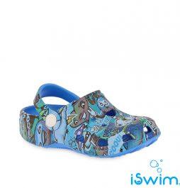 Παιδικά σανδάλια, Coqui Clog Blue Design