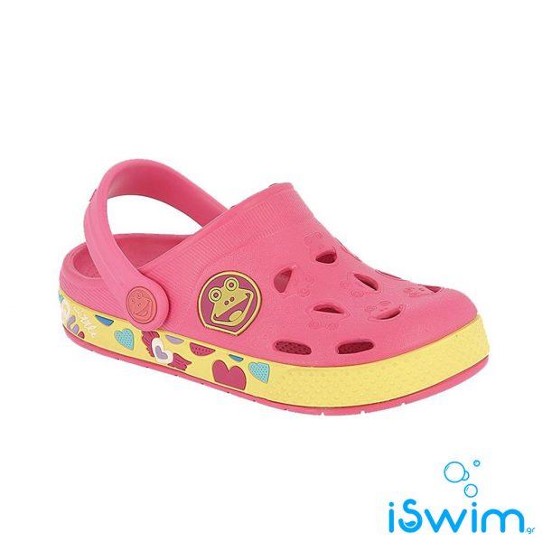 Παιδικά σανδάλια, Coqui Froggy Pink Yellow