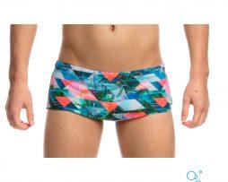 Αγορίστικο μαγιό κολύμβησης αντοχής στο χλώριο, FUNKY TRUNKS BOYS CLASSIC TRUNKS split-scene