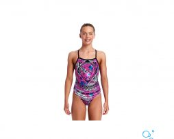 Κοριτσίστικο μαγιο, Funkita Girls Straped In One Piece skull-swim