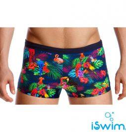 Αντρικο μαγιό κολύμβησης, Funky Trunk Man Square Trunk tropic-team