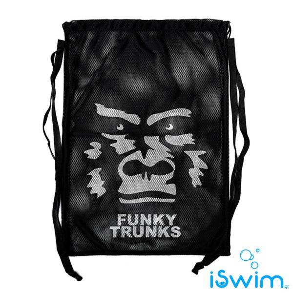Δυχτάκι μεταφορας κολυμβητικών αξεσουάρ, Funky Trunks Mesh Gear Bag the beast