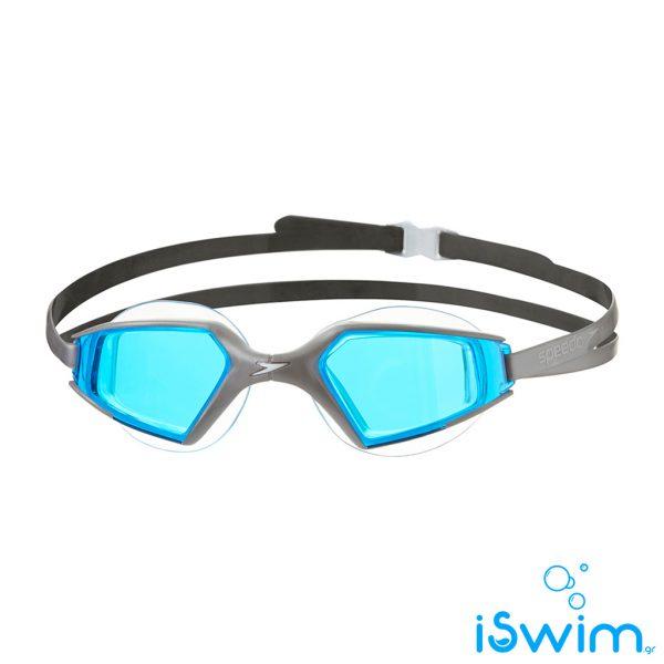 Κολυμβητικά γυαλάκια, SPEEDO AQUAPULSE MAX 2 GREY BLUE