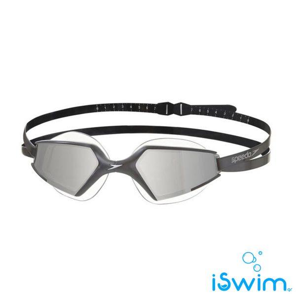 Κολυμβητικά γυαλάκια, SPEEDO AQUAPULSE MAX MIRROR 2 BLACK SILVER