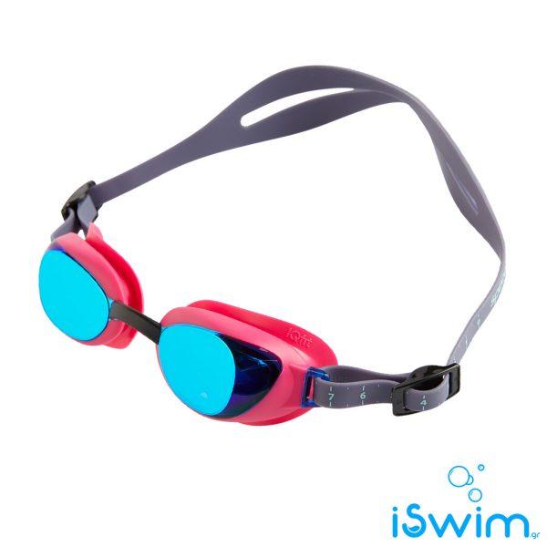 Κολυμβητικά γυαλάκια, SPEEDO AQUAPURE FEMALE MIRROR FUCHSIA BLUE