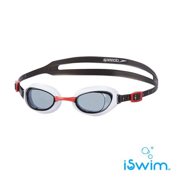 Κολυμβητικά γυαλάκια, SPEEDO AQUAPURE WHITE SMOKE RED