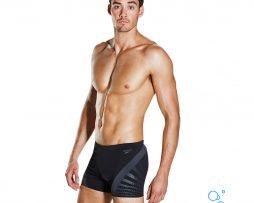 Αντρικο μαγιό κολύμβησης υψηλής αντοχής στο χλώριο, SPEEDO CHEVRON SPLICE AQUASHORT