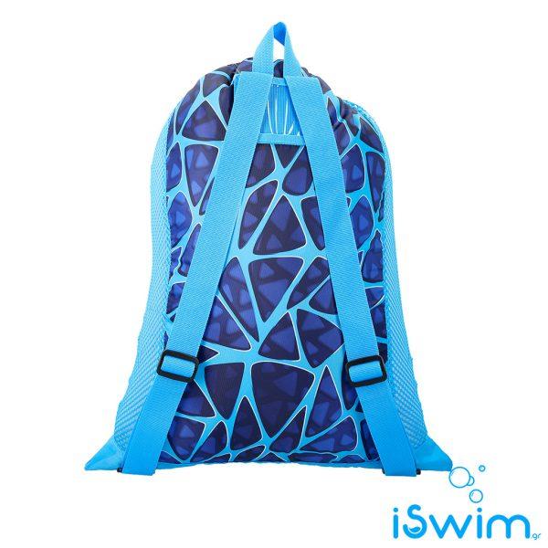 Δυχτάκι μεταφορας κολυμβητικών αξεσουάρ, SPEEDO DELUXE VENT MESH BAG 35L ROYAL BLUE
