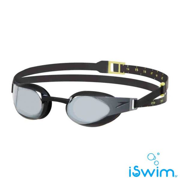 Αγωνιστικά γυαλάκια κολύμβησης, SPEEDO FASTSKIN 3 ELITE GOGGLE MIRROR BLACK