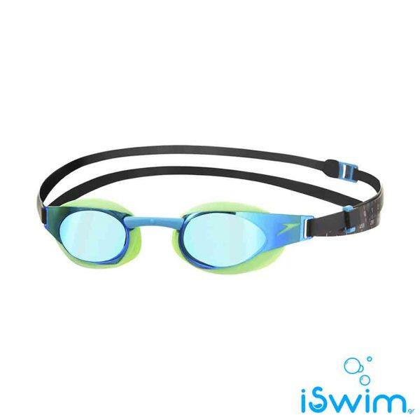 Αγωνιστικά γυαλάκια κολύμβησης, SPEEDO FASTSKIN ELITE MIRROR GREEN BLUE