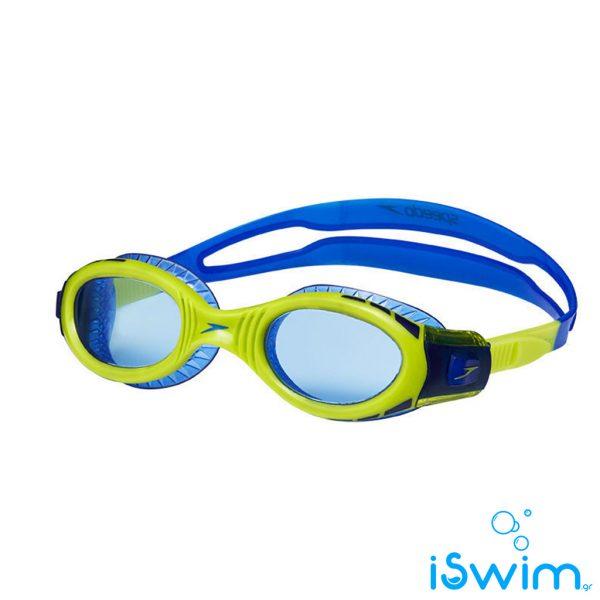 Παιδικά κολυμβητικά γυαλάκια, SPEEDO FUTURA BIOFUSE FLEXISEAL MIRROR JUNIOR BLUE LIME