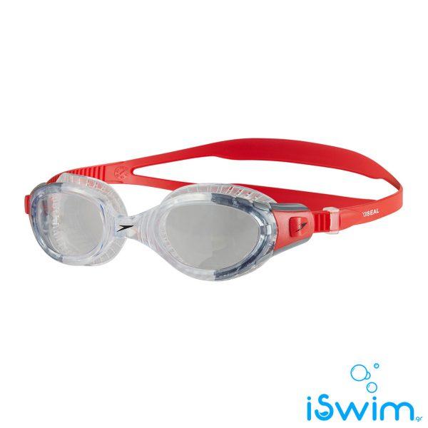 Κολυμβητικά γυαλάκια, SPEEDO FUTURA BIOFUSE FLEXISEAL RED CLEAR