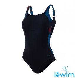 Γυναικείο μαγιό πισίνας αντοχής στο χλώριο, SPEEDO LUNALUSTRE 1 PIECE 810835C518