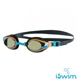 Παιδικά κολυμβητικά γυαλάκια, SPEEDO MARINER SUPRIME MIRROR JUNIOR NAVY GOLD