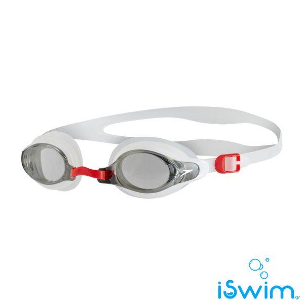 Κολυμβητικά γυαλάκια, SPEEDO MARINER SUPRIME WHITE CLEAR RED