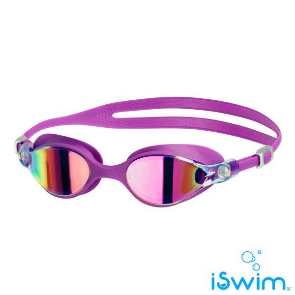 Αγωνιστικά γυαλάκια κολύμβησης, SPEEDO VIRTUE MIRROR PURPLE PINK