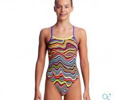 Κοριτσίστικο μαγιο, FUNKITA GIRL SINGLE STRAP ONE PIECE dripping