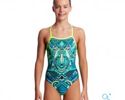 Κοριτσίστικο μαγιο, FUNKITA GIRL STRAPPED IN ONE PIECE wear-wolf