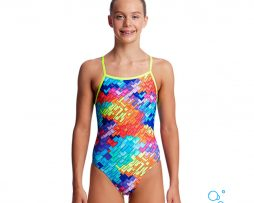 Κοριτσίστικο μαγιο, FUNKITA GIRL TIE ME TIGHT ONE PIECE layer-cake