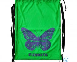 Δυχτάκι μεταφορας κολυμβητικών αξεσουάρ, FUNKITA MESH GEAR BAG pretty-fly