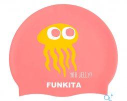Κολυμβητικό σκουφάκι σιλικόνης, FUNKITA SILICONE SWIM CAP you-jelly