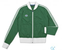 ARENA WOMAN IV TEAM JACKET ESSENCE GREEN WHITE