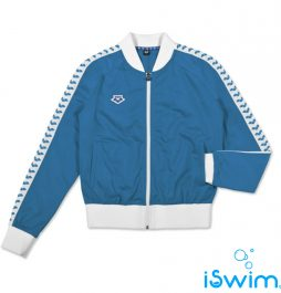 ARENA WOMAN IV TEAM JACKET ESSENCE ROYAL BLUE WHITE
