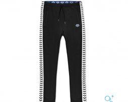 Γυαναικείο παντελόνι 100% πολυεστερικό, ARENA MAN IV TEAM PANT ESSENCE BLACK WHITE