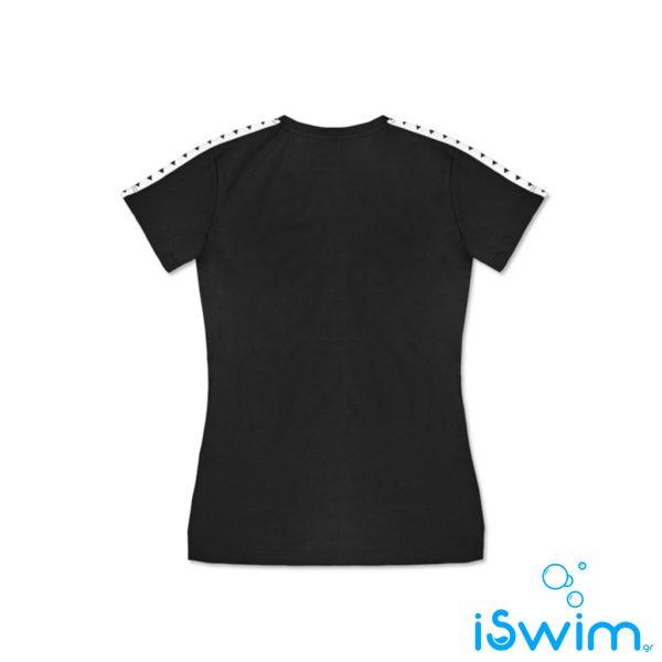 Γυαναικεί T-Shirt, ARENA WOMAN T-SHIRT TEAM ESSENCE BLACK