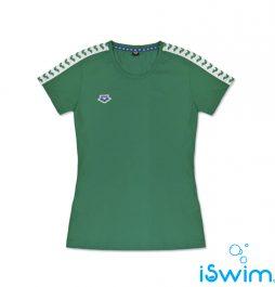 Γυαναικείο T-Shirt, ARENA WOMAN T-SHIRT TEAM ESSENCE GREEN